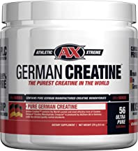 German Creatine (Pure Creapure, The Purest Creatine Monohydrate Available) — 270g..