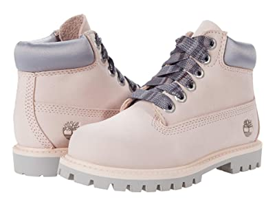 Timberland Kids 6 Premium Waterproof Boot (Toddler/Little Kid) (Light Pink) Girls Shoes