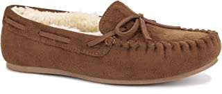 Women Shoes Faux Fur Moccasin Comfort Slip On Slippers