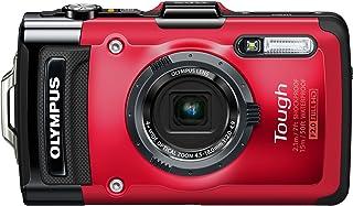 OLYMPUS デジタルカメラ STYLUS TG-2 1200万画素CMOS 15m防水 100kgf耐荷重 レッド TG-2 RED