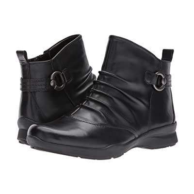 Earth Alta (Black Full Grain Leather) Women