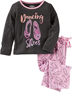 OshKosh B'Gosh Girls' 2-Piece Snug Fit Cotton PJs