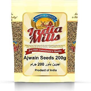 INDIA MILLS Ajwain Seeds, 200 gm