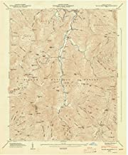 YellowMaps Black Brothers NC topo map, 1:24000 Scale, 7.5 X 7.5 Minute, Historical, 1947, Updated 1947, 27 x 22.1 in