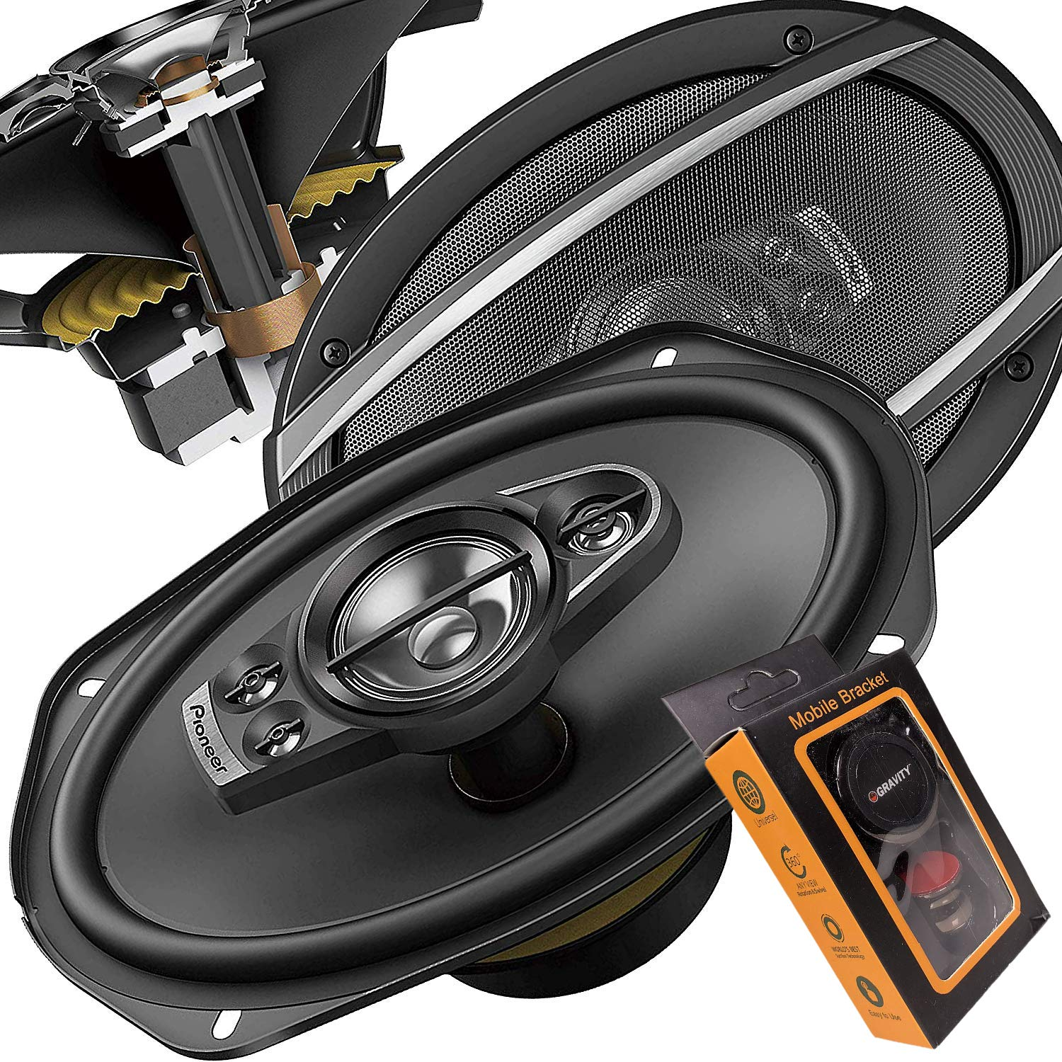 Pioneer TS A6996S Inch 5 Way Speakers