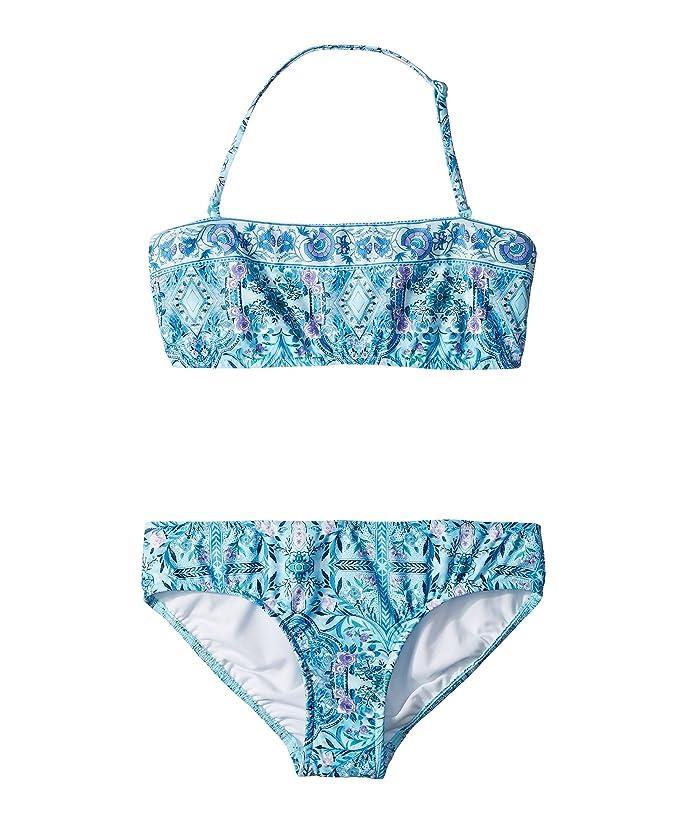 Seafolly Girls Mini Tube Bikini Swimsuit Set Two Piece Swimsuit