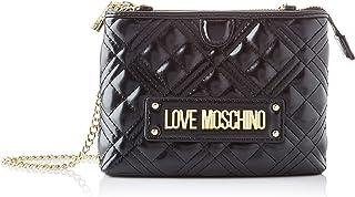Love Moschino JC4209PP0BKA0000, Bandolera para Mujer, Negro, Normale