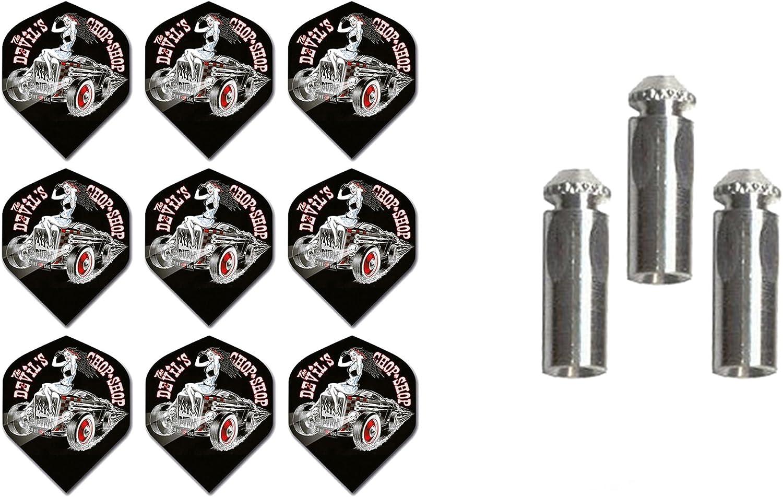 Nashville-Davidson Mall 3 Sets of Alchemy Standard Dart Flights Max 89% OFF 1 Plus Set Aluminum