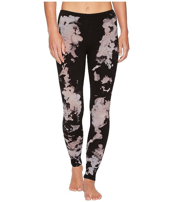 Hard Tail Flat Waist Ankle Leggings (Space Dye 1) Women
