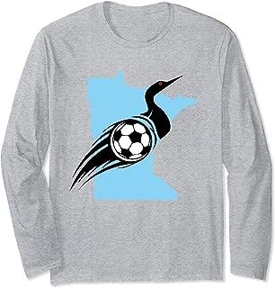 Minnesota Soccer Loon Long Sleeve T-Shirt