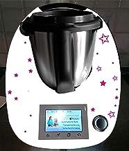 """Sticker geschikt voor Thermomix TM 5, TM 6, TM 31 accessoires voor """"Mamas Playstation"""" gekleurde sterren"""