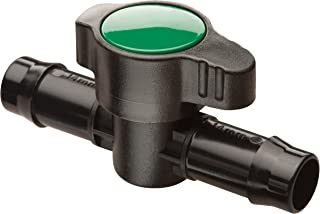 "Rain Bird BVAL50-1S Drip Irrigation 1/2"" Barbed Valve, Male x Male"