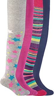Trimfit Girls' Multi-Pack Durable Fashion Tights