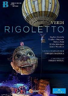 ヴェルディ : 歌劇「リゴレット」(Verdi : Rigoletto / Wiener Symphoniker   Enrique Mazzola) [DVD] [Import] [Live] [日本語帯・解説付]