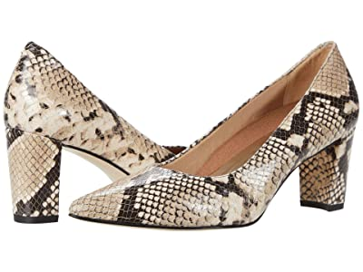 Walking Cradles Samantha (Beige/Brown Python Print) Women