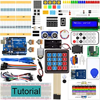 Freenove RFID Starter Kit V2.0 with Board V4 (Compatible with Arduino IDE) (Blue Board), 266 Pages Detailed Tutorial, 198 ...