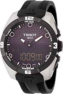 Tissot Men's T0914204705100 T-Touch Expert Analog-Digital Titanium Watch