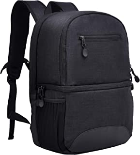 MIER 2 in 1 Insulated Cooler Backpack for Men and Women Hiking Daypack with Lunch Cooler Compartment, Double Deck and Leak...