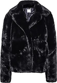 Rino and Pelle Women's Juna Faux Fur Jacket Black
