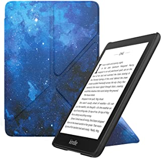 MoKo Case Replacement with Kindle Paperwhite (10th Generation, 2018 Release), Standing Origami Slim Shell Cover with Auto ...