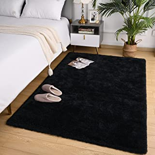 Fosirug Soft Fluffy Shag Area Rugs for Bedroom Carpet,...