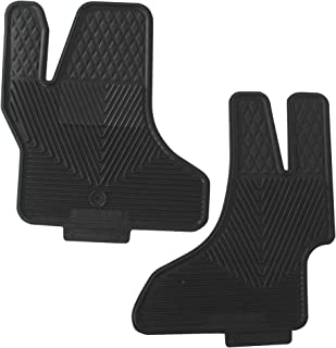 Highland 4604200 All-Weather Black Front Seat Floor Mat
