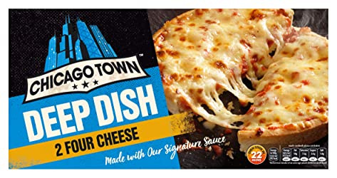 Chicago Town 2 Deep Dish Cheese Pizza