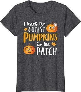 I Teach The Cutest Pumpkins In The Patch T Shirt School Cute T-Shirt