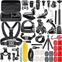 Neewer Action Camera Accessory Kit for GoPro Hero 7 6 5 4 3 Session, DJI OSMO Action SJ4000/5000, Nikon and Sony Sports DV in Swimming Rowing Climbing Bike Riding Camping and More