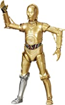 Star Wars 2016 The Black Series C-3PO Exclusive Action Figure (Silver Right Leg) 6 Inches