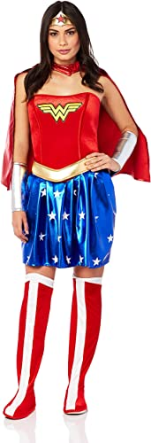 Adult Wonder femme Fancy Robe costume X-grand
