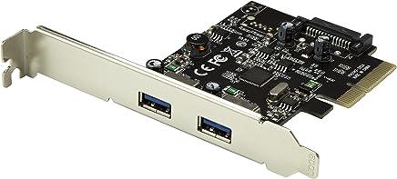 StarTech.com Dual Port USB 3.1 Card - 2X USB-A - 10Gbps per Port - Expansion Card - PCI Express USB Card - PCI-e to USB