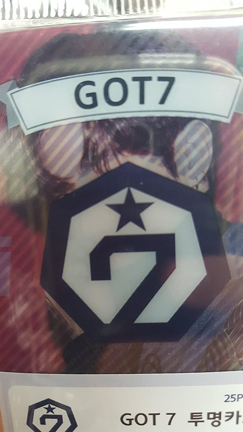Kpop Got 7 Transparents 2 x 3 inches 20 pcs Got7 - 2 counts