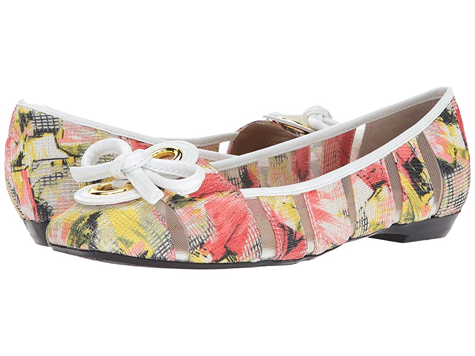 J. Renee Edie (Coral Multi/White) Women