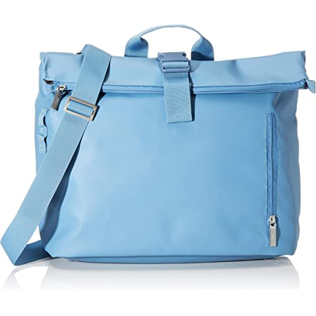 BREE Unisex-Erwachsene Punch 715, Provencial Blue, Messeng. W19 Umhängetasche Blau (Provincial Blue)