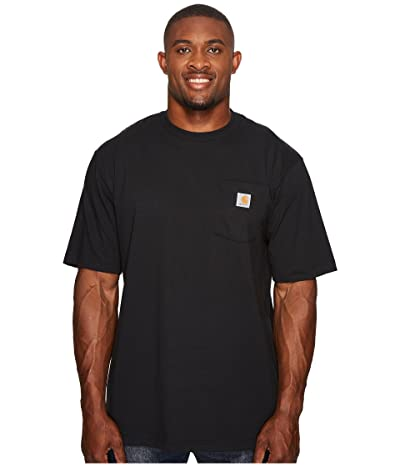 Carhartt Workwear Pocket S/S Tee Tall (Black) Men