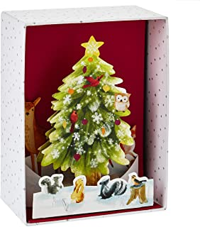 Hallmark Paper Wonder Boxed Christmas Cards, Pop Up Christmas Tree (8 Cards with Envelopes)