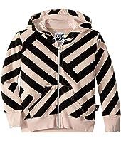 Striped Zip Hoodie (Toddler/Little Kids)