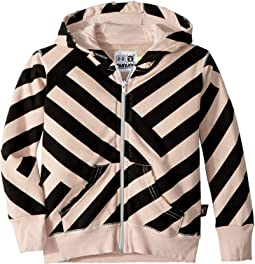 Striped Zip Hoodie (Toddler/Little Kids)