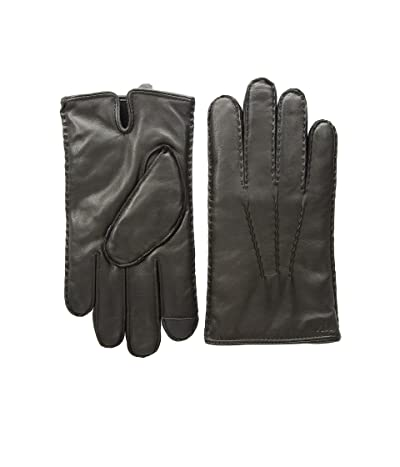 Polo Ralph Lauren Cashmere Lined Gloves (Black) Over-Mits Gloves
