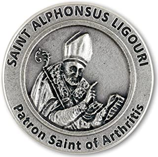 Gifts Catholic, Inc. Saint Alphonsus Liguori Pocket Token - Patronage: Arthritis