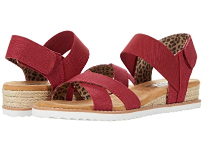 BOBS from SKECHERS Desert Kiss Secret Picnic (Red) Women