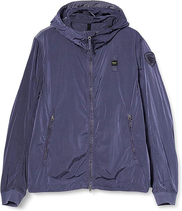 Blauer giubbini corti sfoderato giacca sportiva uomo 20SBLUC04010 005335