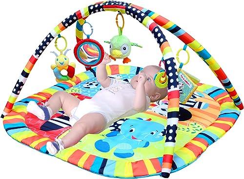 Vuelta de 10 dias Lvbeis Baby Play Play Play Mat Gym con MúSica Activity Rug Newborn Alfombras De Juegos Infantiles Manta De Actividades  tienda hace compras y ventas