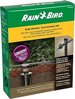 sprinkler drip system conversion
