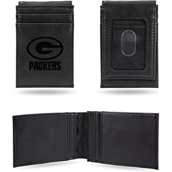 NFL Rico Industries  Laser Engraved Trifold Wallet Green Bay Packers