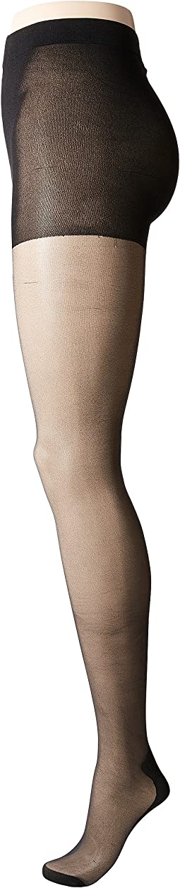 Plus Size Curves Backseam Tights