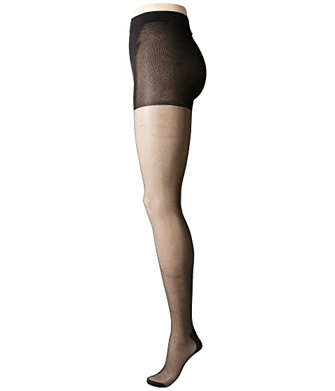 PRETTY POLLY Plus Size Curves Backseam Tights, Black