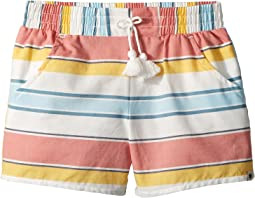 Tia Stripe Shorts (Little Kids)