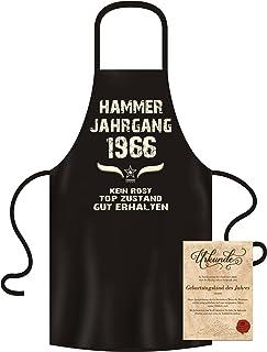 Soreso Design Schürze + Geburtstagsurkunde : Hammer Jahrgan